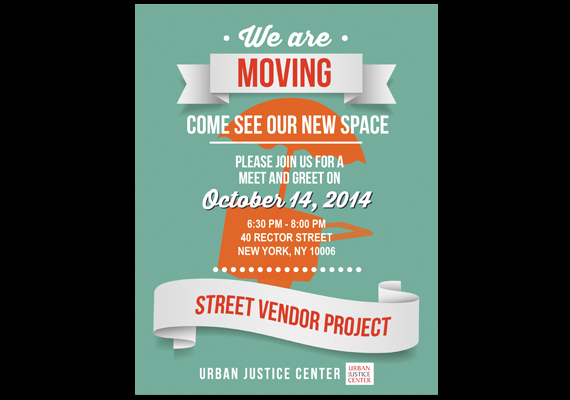 Flyer for Street Vendor Project
