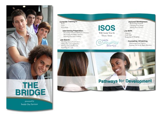 Brochure: The Bridge<br>Client: Inside Out Services